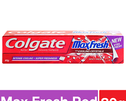 Colgate MaxFresh Anticavity Toothpaste Gel - Spicy Fresh, 80 g