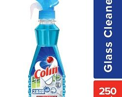 Colin Glass Cleaner Pump 2X More Shine with shine Boosters - 250ml