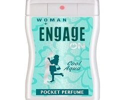 Engage On Cool Aqua women Pocket Perfume -18ml
