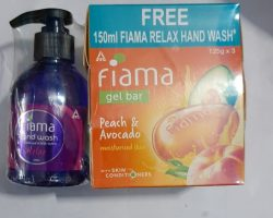 Fiama Shower Gel Peach & Avocado with Free 150ml Fiama Relax Hand Wash
