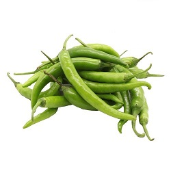 Chilli - Green, Organically Grown