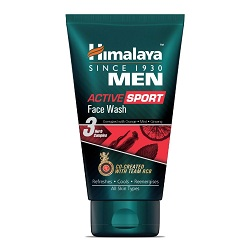 Himalaya Men Active Sport Face wash, 50ml