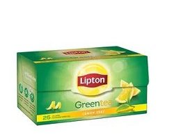Lipton Green Tea Lemon Zest 25Tea Begs