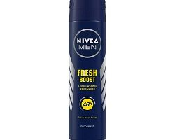 NIVEA MEN Deodorant, Fresh Boost, 150ml