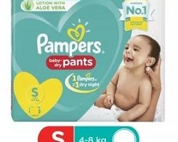 Pamper Baby Dry small 4 pants