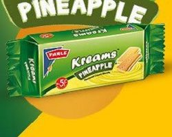 Parle Kream Pineapple Biscuit