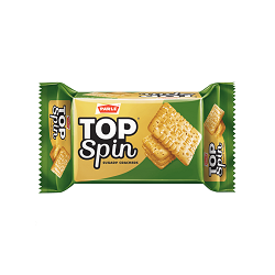 Parle, Top Spin Cracker Biscuits, 200 Grams(gm)