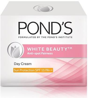 Ponds White Beauty Anti-Spot Fainess Day Cream Sun Protection SPF 15 PA++ (50 g)