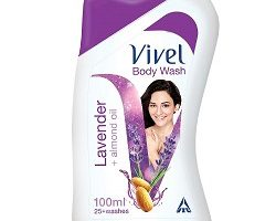 Vivel Body Wash - Lavender, Almond Oil