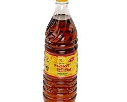 Double Hiran Mustard Oil Bottle, 1 Ltr