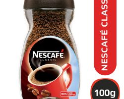 NESCAFÉ CLASSIC COFFEE, 100 GM GLASS JAR
