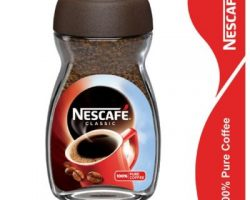 NESCAFE CLASSIC COFFEE, 50 GM GLASS JAR