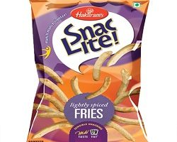 SNAC LITE FRIES 65GM