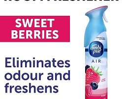 Ambi pur Air Effect Air Freshener - Sweet Berries, 275 ml