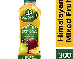 B Natural Himalayan Mixed Fruit Bottle, 300 ml