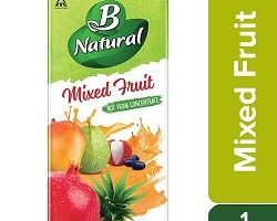 B Natural Juice, Mixed Fruit, 1L