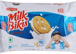 Britannia Milk Bikis Milk Cream Biscuit