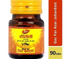 Dabur Hingoli Gas Par Asar Zabardast - 90 Tablets Bottle