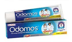 Dabur Odomos Non-Sticky Mosquito Repellent Cream (With Vitamin E & Almond) - 25 gm