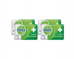 Dettol Original Soap, Save 13 (Pack of 4)