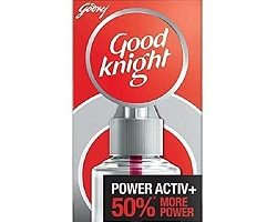 Good Knight Power Activ+, Mosquito Repellent - 60 Nights Jumbo Refill Pack 45 ml