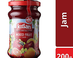 Kissan Fruit Jam 200gm