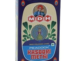 MDH Peacock - Kasoori Methi, 25 g Carton
