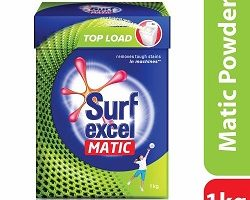 Surf Excel Matic Top Load Detergent Powder, 1 kg