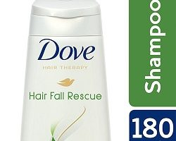 Dove Hair Fall Rescue Shampoo, 180 ml