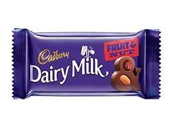 Dairy Milk Fruit nut